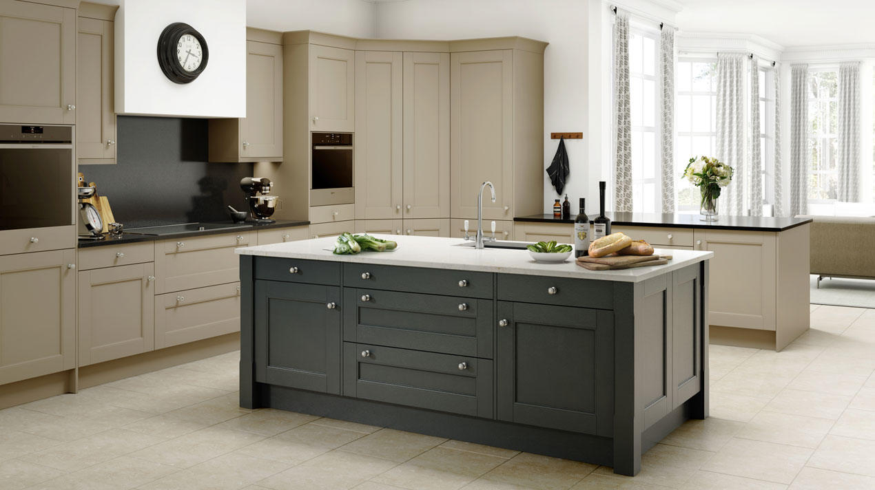Two Colour Kitchen Cabinets Pictures