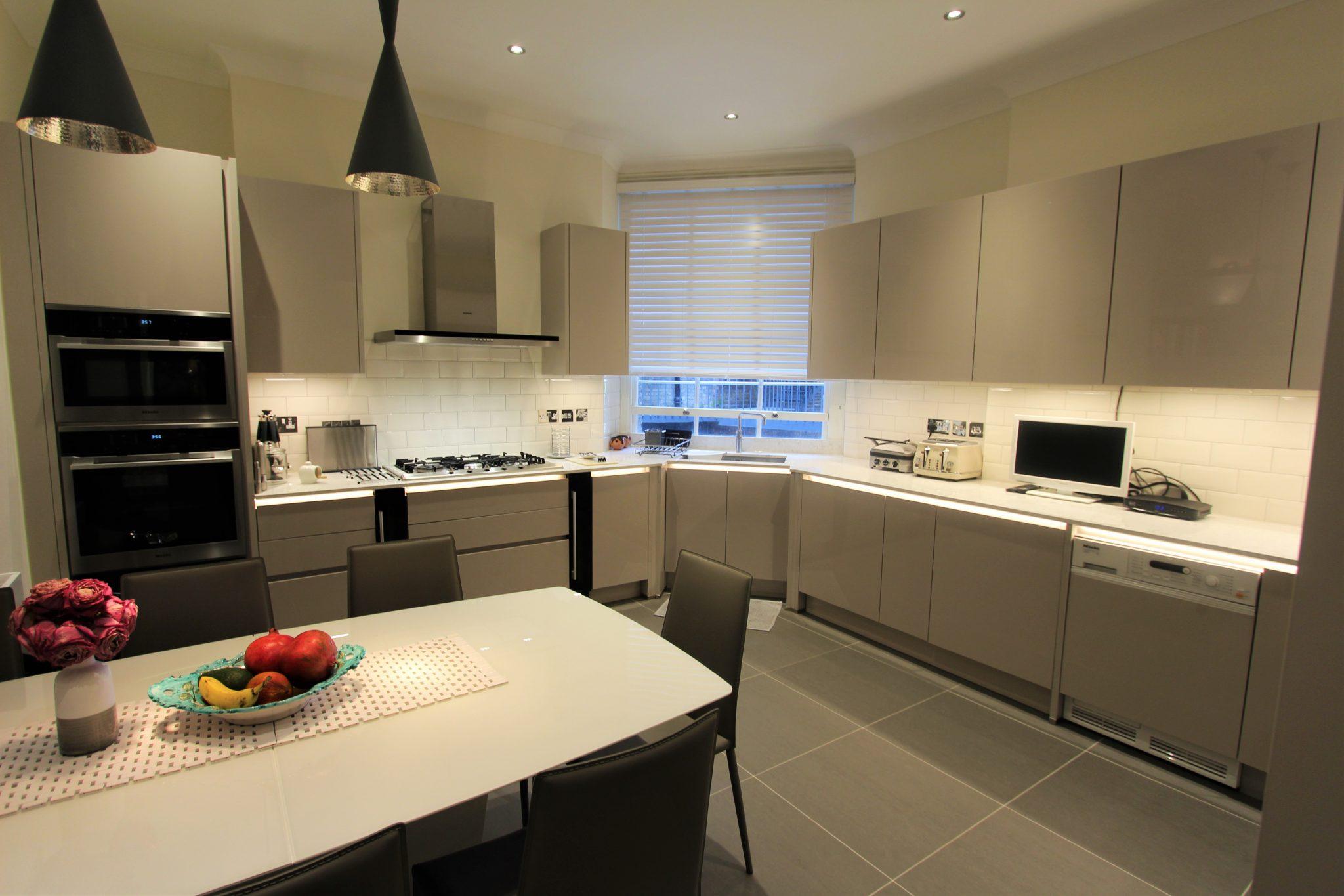 Leicht Kitchen showroom wimbledon
