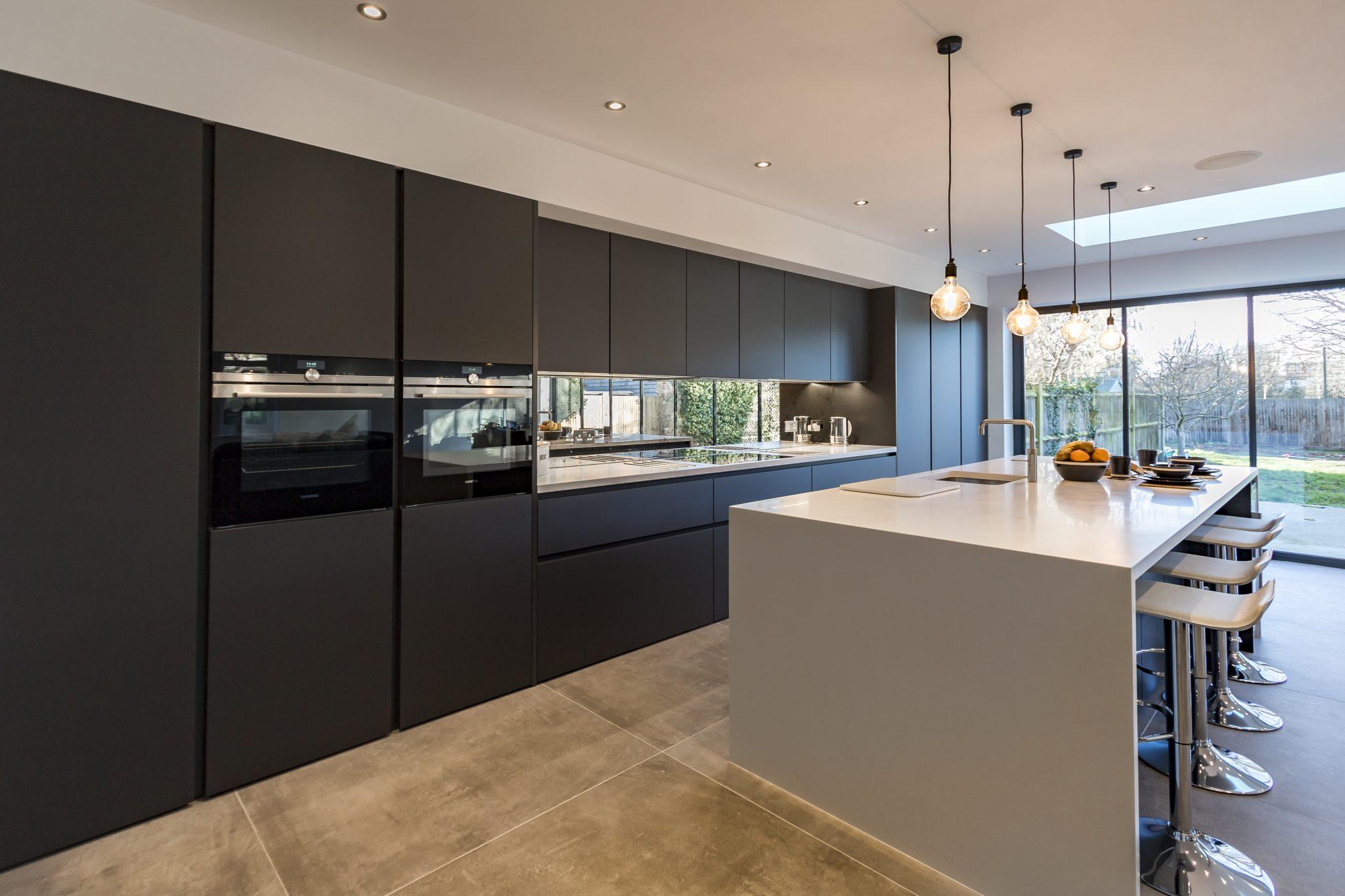 ... Leicht Kitchen Carbon Grey ...