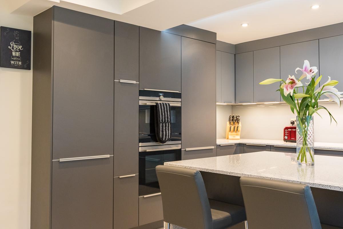 Nobilia Slate/Mineral Grey Kitchen Chessington