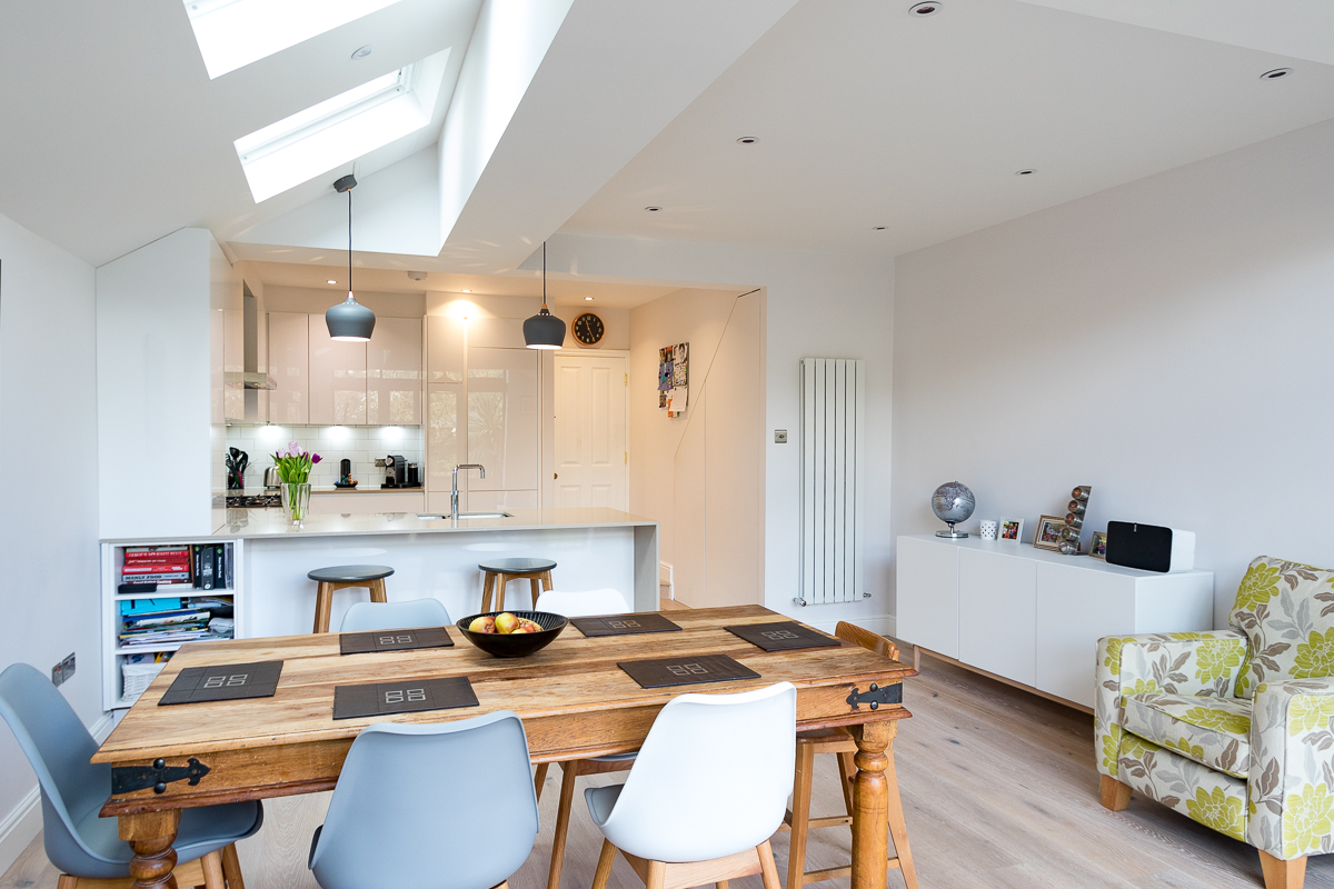 nobilia alpine white kitchen teddington